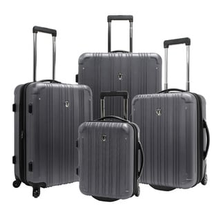 Traveler's Choice TC5800 New Luxembourg 4-piece Hardshell Spinner Luggage Set