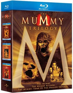 The Mummy Trilogy (Blu-ray Disc)