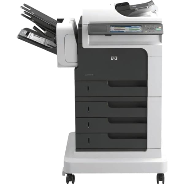 HP LaserJet M4555FSKM Laser Multifunction Printer - Monochrome - Plai
