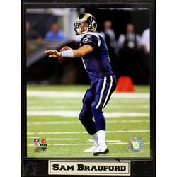St. Louis Rams Sam Bradford Plaque