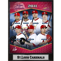2011 St. Louis Cardinals Plaque