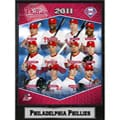 2011 Philadelphia Phillie's Stats Plaque
