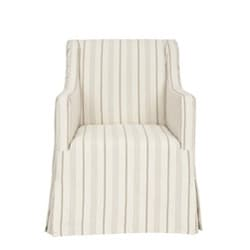 Safavieh Cottage Slipcover Beige Living Room Chair