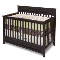 Logan Jamocha 4-in-1 Convertible Crib