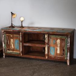 Reclaimed Wood Side Board (India)
