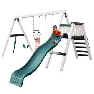 Congo Green and White Swingin' Monkey 3-position Play Set