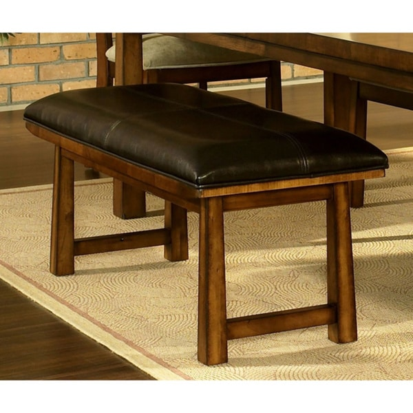 Somerton Dwelling Dakota Medium Brown Bench