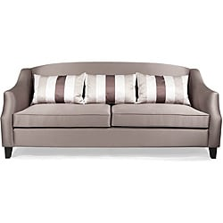 Contemporary Champagne Sofa
