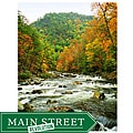 Orange Cat Art Sheri Symanski 'Tellico River Rapids' Photographic Print