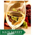 Orange Cat Art Mark Wagoner 'White Wine Glass' Photographic Print