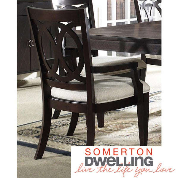 Somerton Dwelling Crossroads Arm Chairs (Set of 2)