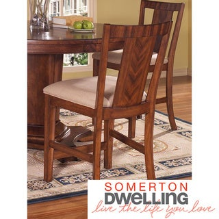 Somerton Dwelling Runway Bar Stools (Set of 2)