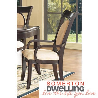 Somerton Dwelling Signature Upholstered Arm Chairs (Set of 2)