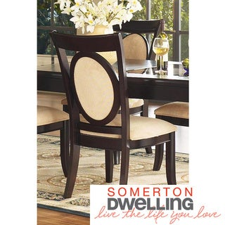 Somerton Dwelling Signature Upholstered Side Chairs (Set of 2)