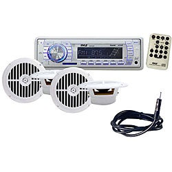 Pyle KTMRCR113 In-Dash Marine AM/FM/USB/SD/MMC Radio