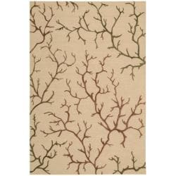 Nourison Cambria Natural Wool Blend Rug (8' x 10')