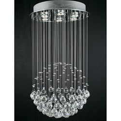 Crystal Empire 6-light Chandelier