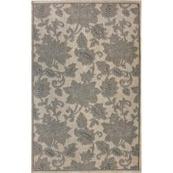 Alexa Outdoor/Indoor Floral Rug (5'3