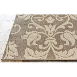 Contemporary Alexa Outdoor/Indoor Rug (5'3