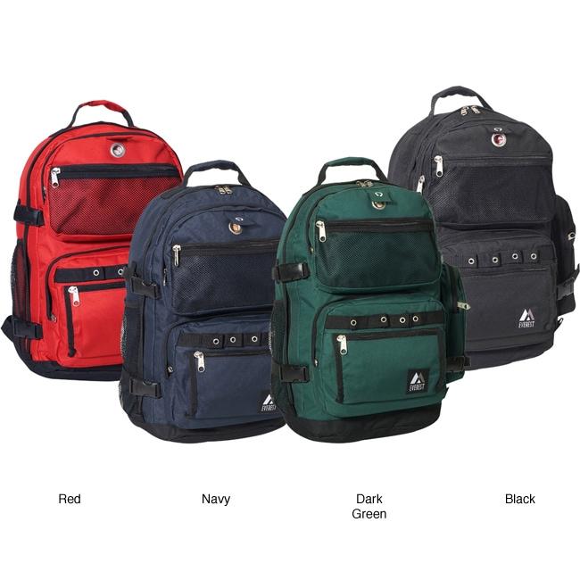Everest Oversized 20-inch Lightweight Deluxe Polyester Backpack
