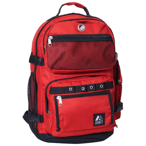 Everest 20-inch Lightweight Oversized Deluxe Polyester Backpack