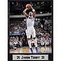 Dallas Mavericks Jason Terry Black Photo Plaque