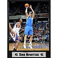 Dallas Mavericks Dirk Nowitzki Plaque
