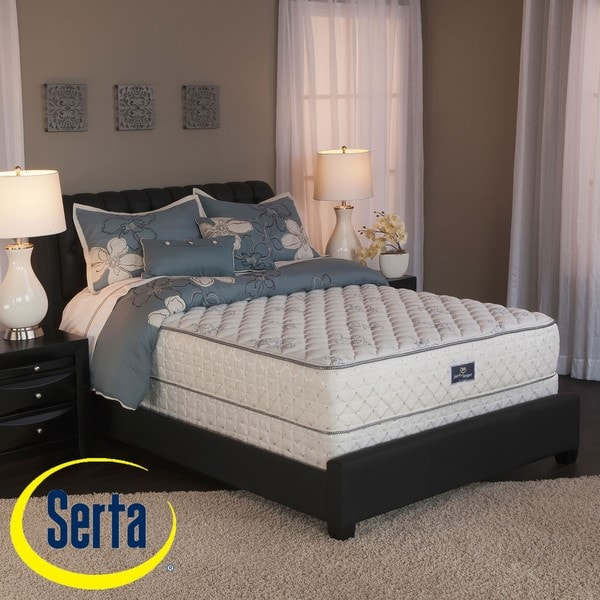 Serta Perfect Sleeper Liberation Cushion Firm Cal King-size Mattress and Box Spring Set