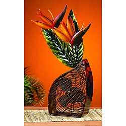 Deco Breeze DBF0252 Bird of Paradise Figurine Fan