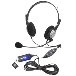 Andrea Electronics PureAudio NC-185VM USB Headset