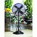 Deco Breeze DBF0624 Ebony 38-50-inch Outdoor Fan