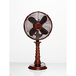 Deco Breeze DBF0761 Raleigh 10-inch Table Fan
