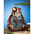 Deco Breeze DBF0333 Bear Figurine Fan