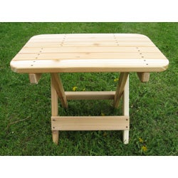 PHAT TOMMY Folding Western Red Cedar  Side Table