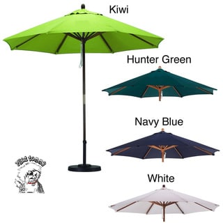 PHAT TOMMY Deluxe Sunline 9-foot Umbrella