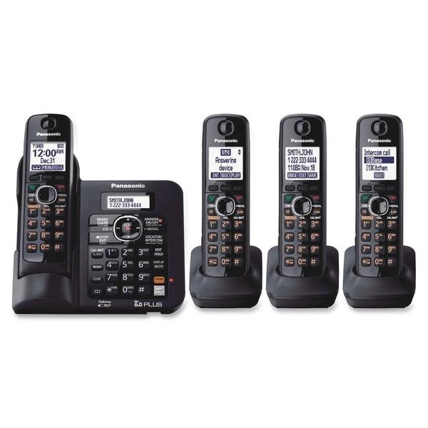Panasonic DECT 6.0 1.90 GHz Cordless Phone - Black