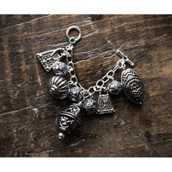 Fashion Forward Antiqued Silver Charm Bundle