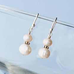 Classic Sterling Silver Pearl Earrings (4-9 mm)