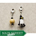 Fashion Forward Cute Penguin Charms (Set of 2)