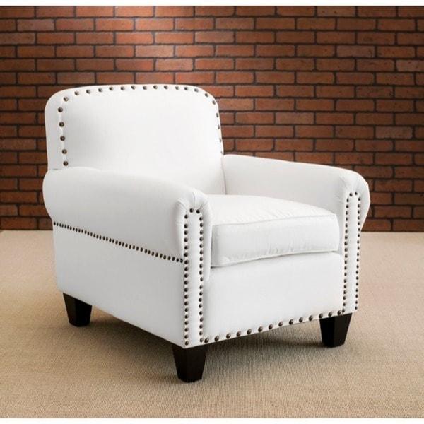 Safavieh Chester White Club Chair