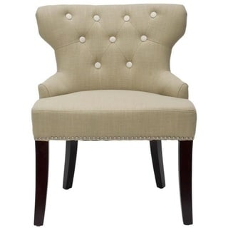 Safavieh Rochelle Light Grey Vanity Chair - 13688888 - Overstock.com Shopping - Great Deals on ...