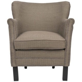 Safavieh Noble Brown Club Chair