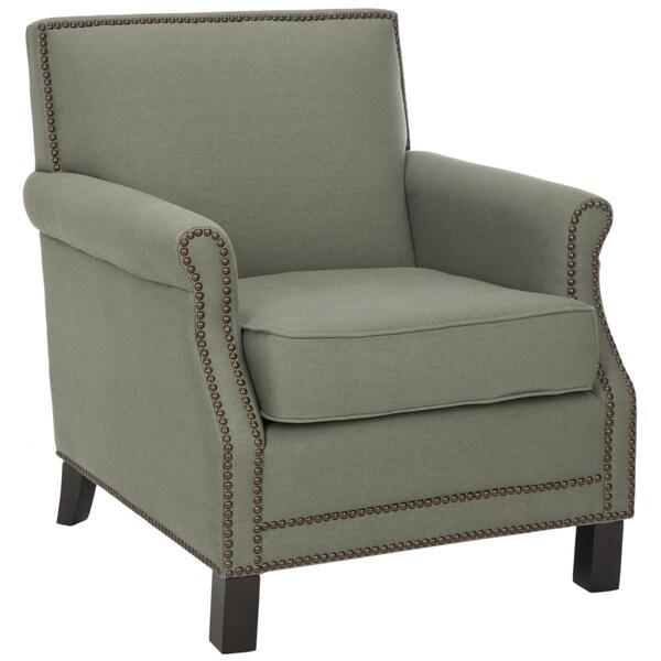 Safavieh Mansfield Grey Club Chair