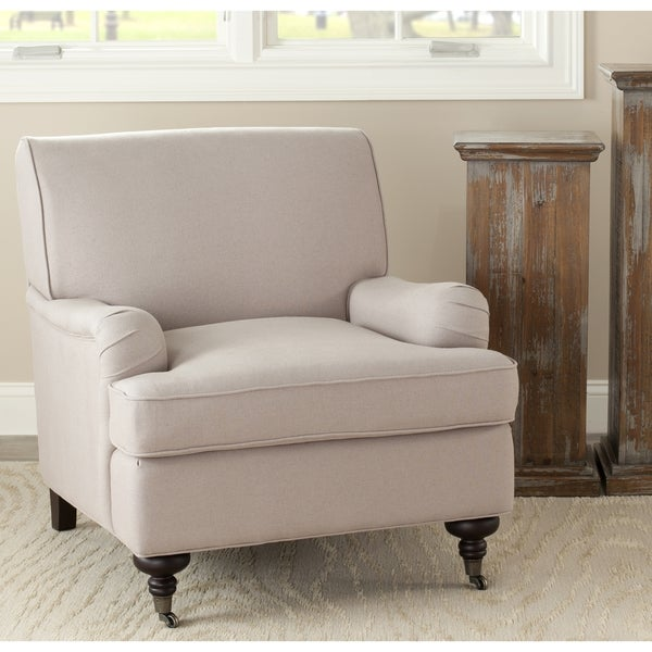 Safavieh Nottingham Sand Taupe Club Chair