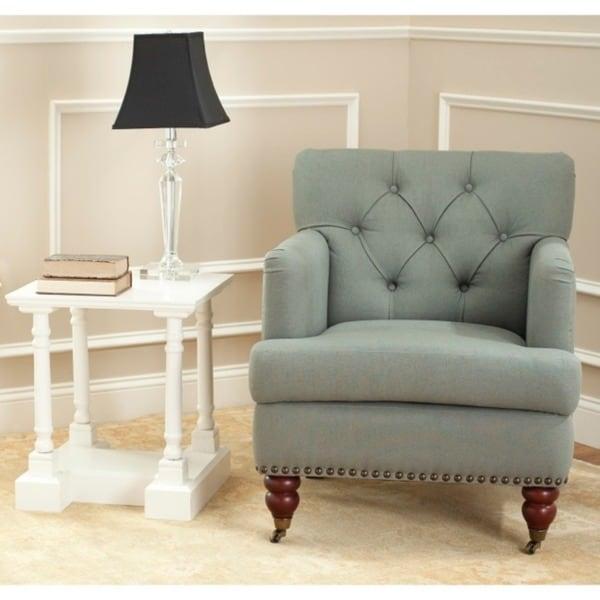 Safavieh Manchester Green Grey Club Chair