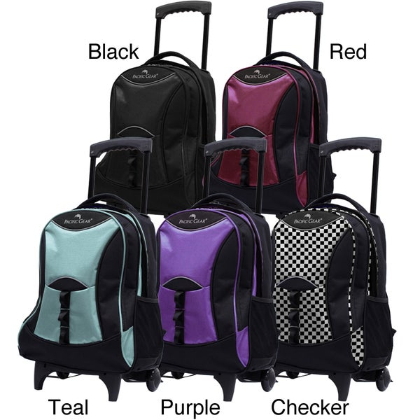 Pacific Gear by Traveler's Choice 19-inch Carry On Wheeled Backpack