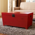 angelo:HOME Red Pyramid Trunk Coffee Table