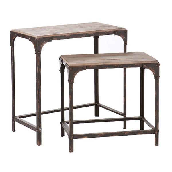angelo:HOME Bowery Nesting Table Set