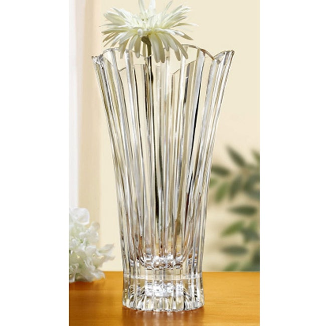 Crystal Clear Glass 12-inch Alexandria Vase