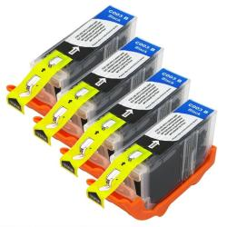 Canon BCI-3eBK Compatible Black Ink Cartridges (Pack of 4)
